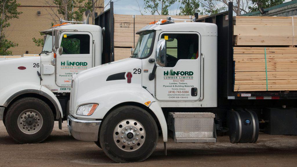Hanford Lumber - Leading supplier of lumber, plywood, timber