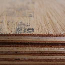 Fire retardant treated plywood