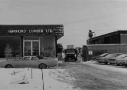 Hanford Lumber old photo