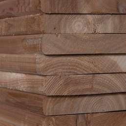 pressure treated MCA lumber
